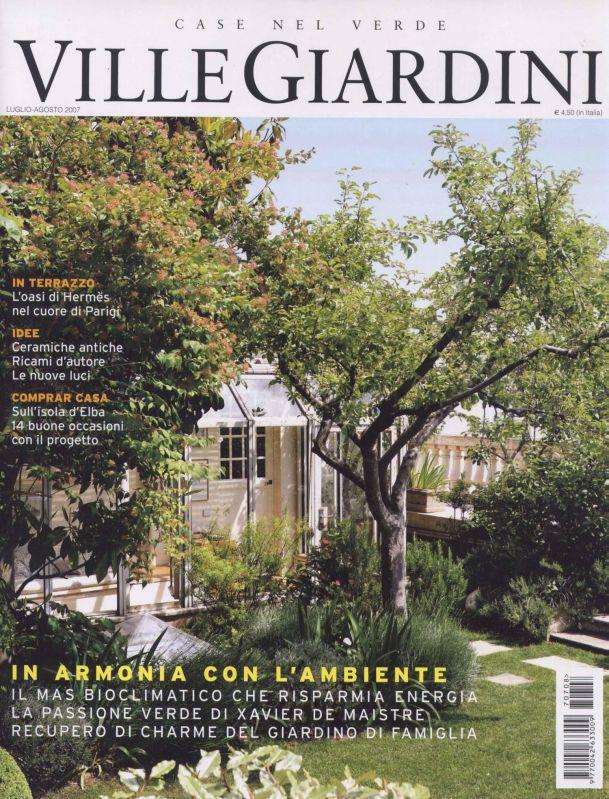 Studio dogliotti architetti genovesi for Arredo ville e giardini